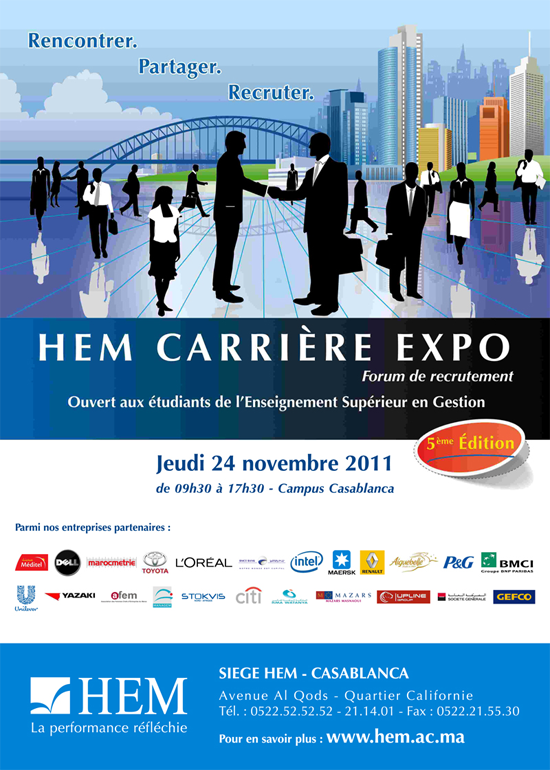 hem   forum du recrutement 2011