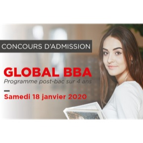 Concours d'admission Global BBA- Emlyon business school